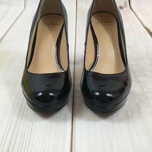 Joan & David Shoes - Circa Joan & David Luxe Black Patent Heels 6